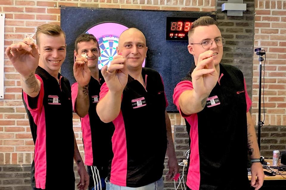 Kevin, Yannick, Vincent en Michael gaan voor een nieuw wereldrecord.