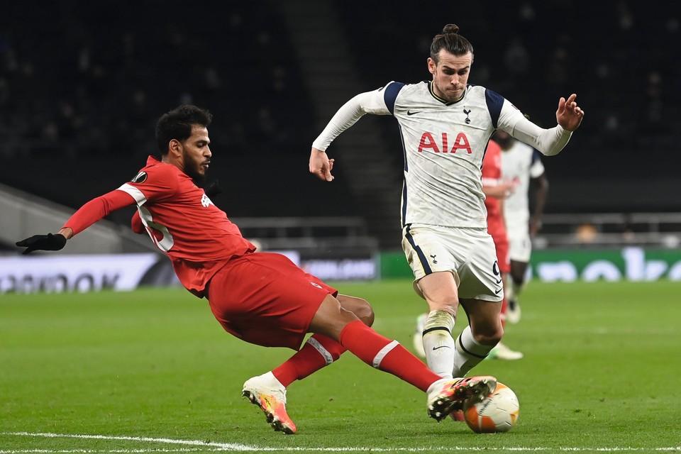 December 2020: Haroun tackelt wereldster Baletijdens de return bij Tottenham. Zijn laatste Europese optreden dit seizoen, of stunt Antwerp morgen alsnog bij Rangers?