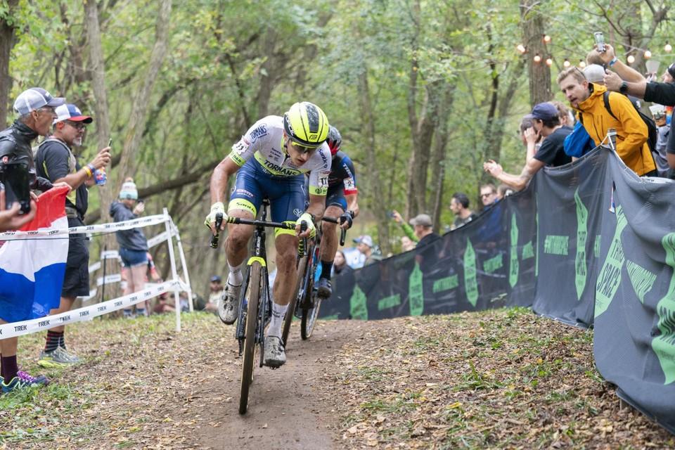 Quinten Hermans reed een sterke eerste wereldbekercross in Waterloo.