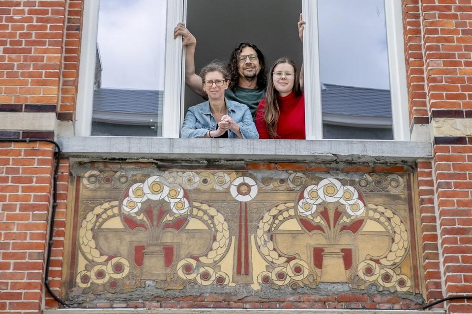 Het huis van Kris De Hoon en zijn familie in de Kerkstraat in Turnhout.