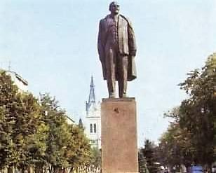 Monument Lenin.