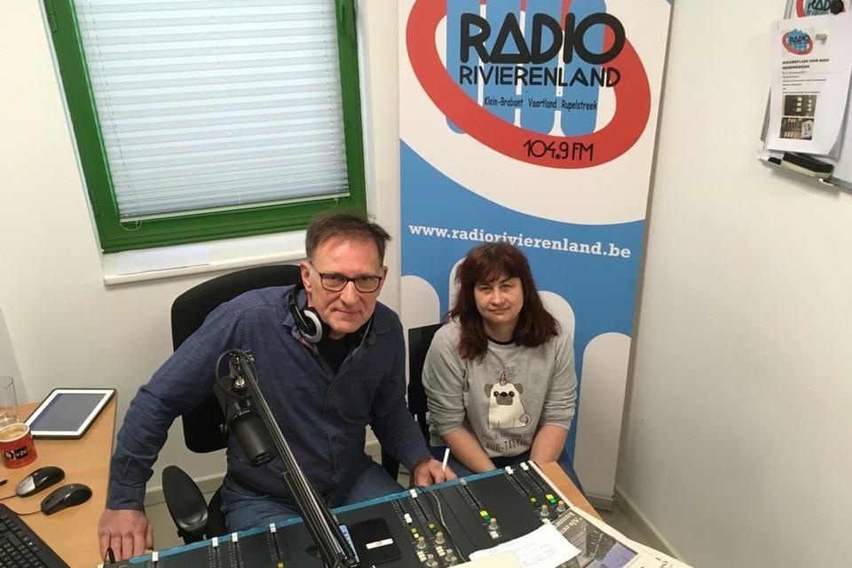 Radiopresentator van dienst is Marc Van Praet.