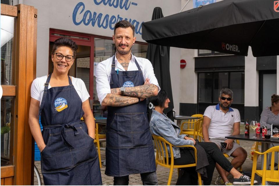 Carla Antens en Raoul Pena brengen de smaak van Spaanse vis naar 't Stad.