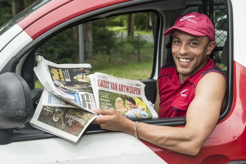 Manuel, de Arendonkse postbode en broer van Radja Nainggolan schrok toen bleek dat 'Il Ninja' naar Antwerp zou komen.