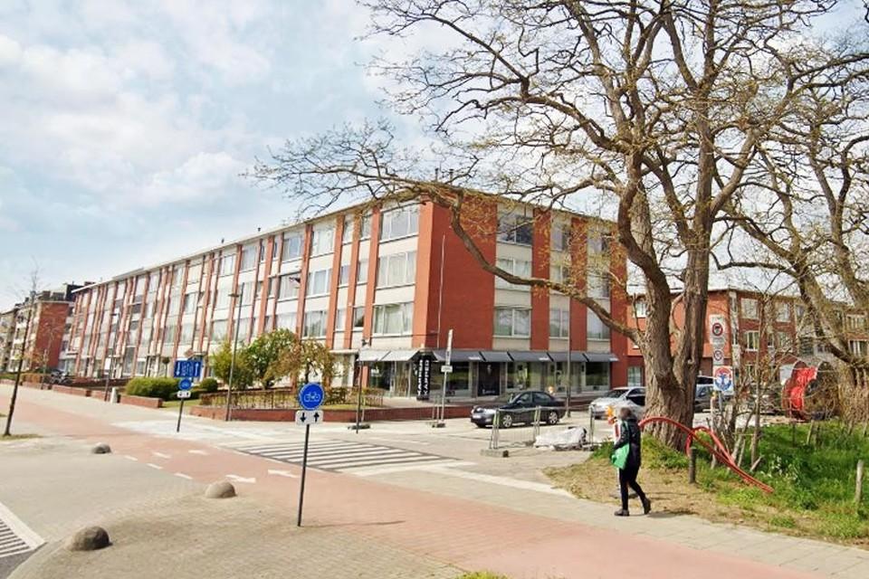 De Haviklaan, de ingang van de wijk Zwarte Arend aan de August Van de Wielelei
