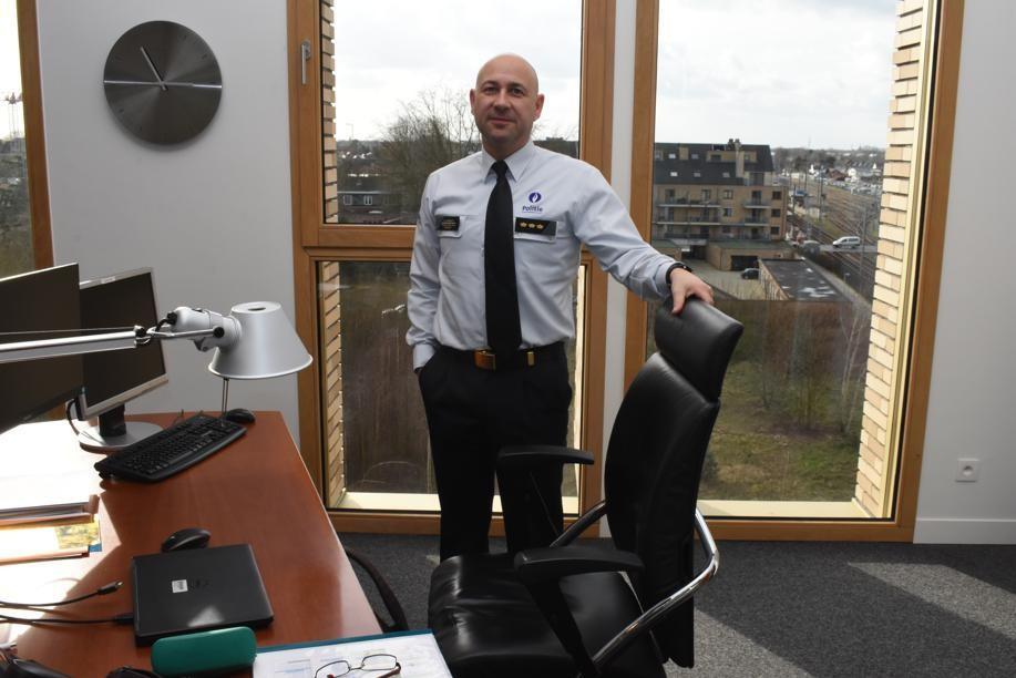 Korpschef Walter Coenraets van politiezone Balen-Dessel-Mol.