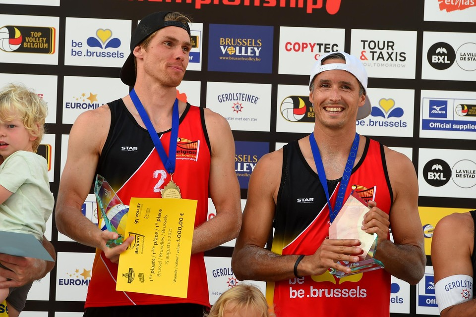 Dries Koekelkoren en Tom van Walle kroonden zich veertien dagen geleden nog tot Belgisch kampioen.