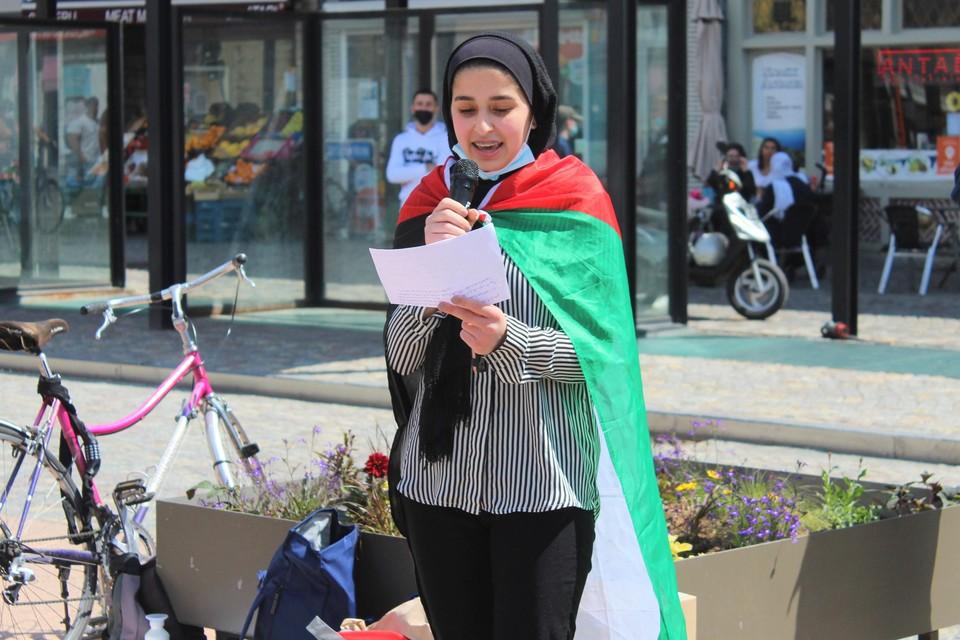 Drie Palestijnse zussen getuigden over hun leven in Gaza.