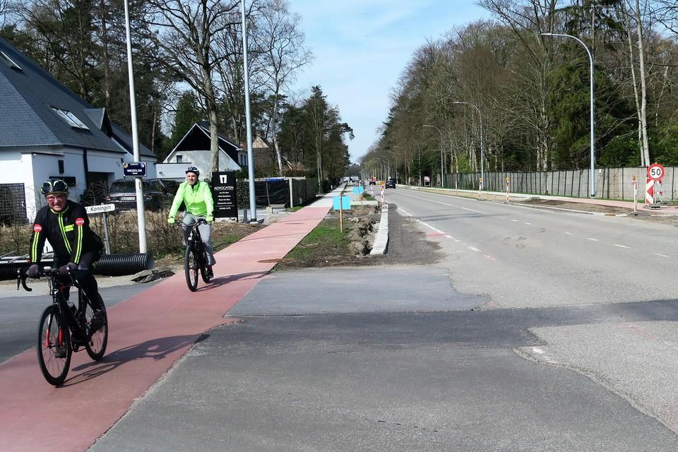 De fietspaden liggen intussen bijna overal langs de Botermelkbaan. Nu volgt nog de herinrichting van de kruispunten, de fase met de zwaarste hinder.