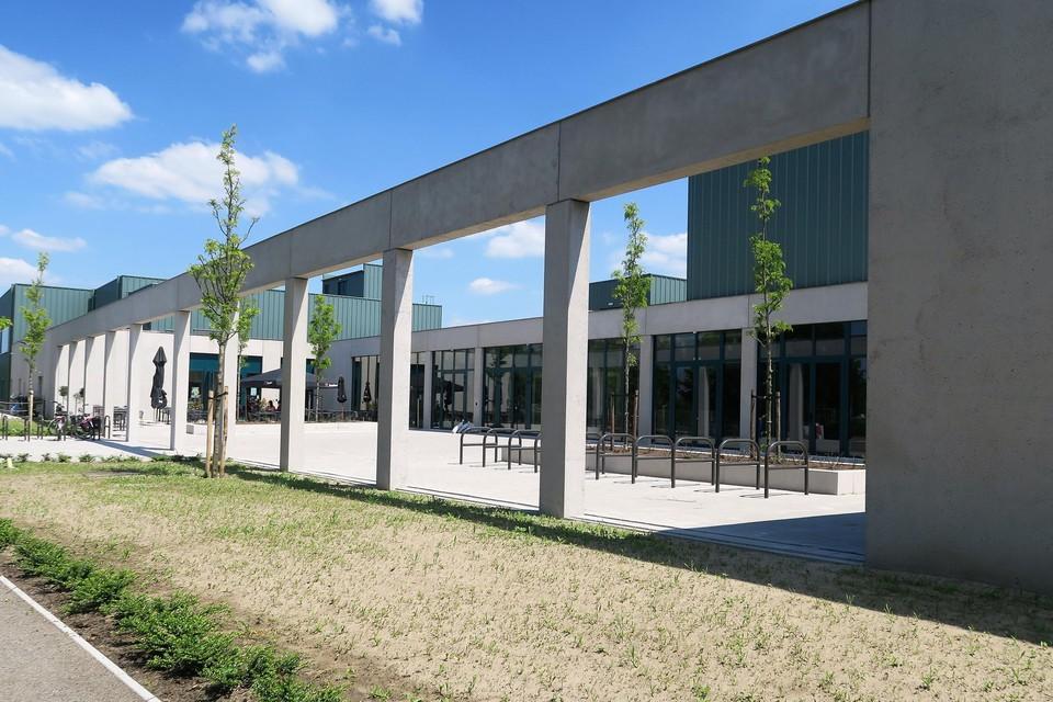 De metropolitische inkom van COC Brieleke, in het landelijke Wommelgem. Opening is voorzien op 25 september.