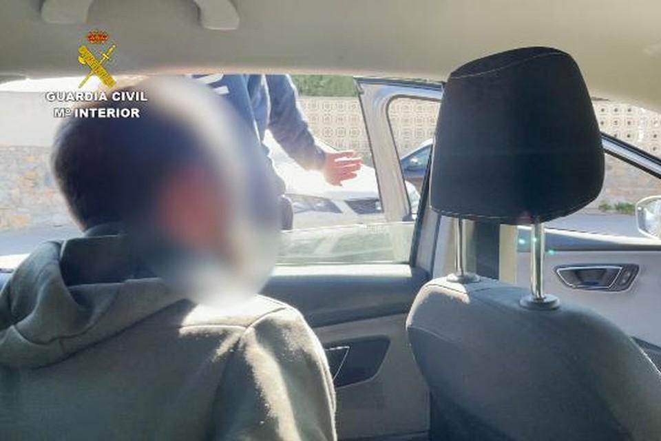 'Flash' werd gearresteerd in Spanje.