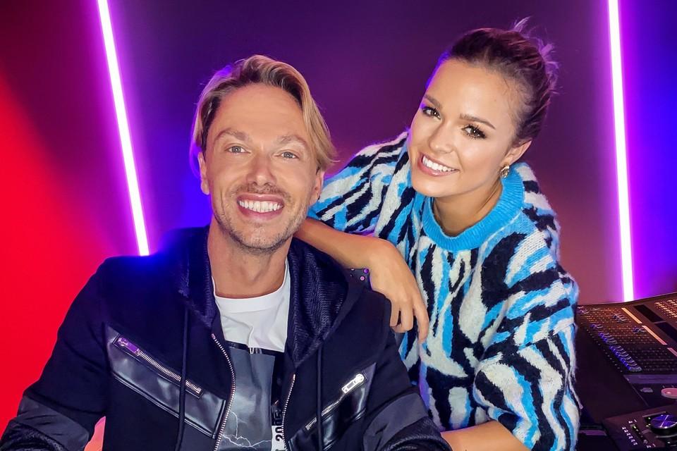 Regi en zijn nieuwe zangeres: Pauline Slangen uit Lommel