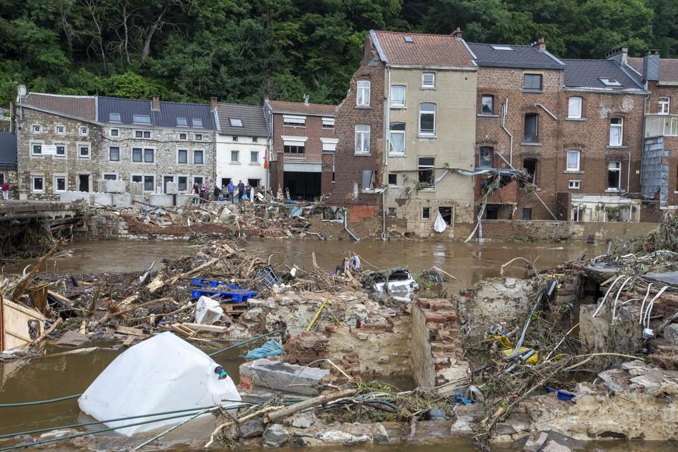 Overstromingen in België.