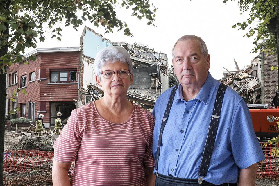 Guillaume Moyaert (76) en Cecile Laenen (71) woonden vijftig jaar in hun huis.