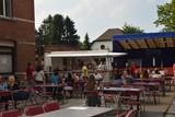 thumbnail: Het terras van café Sportlokaal.