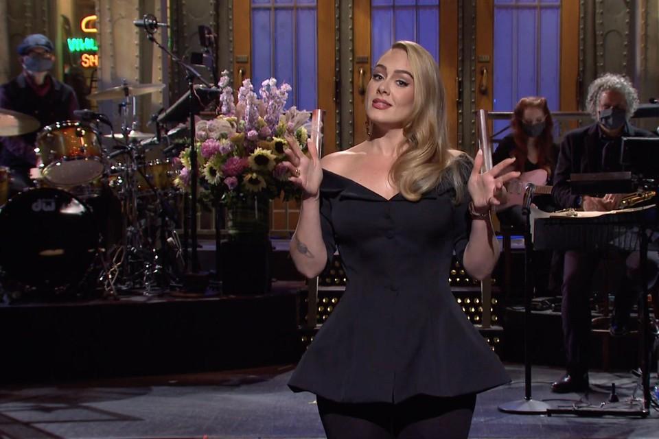 Adele vorig jaar tijdens Saturday Night Live