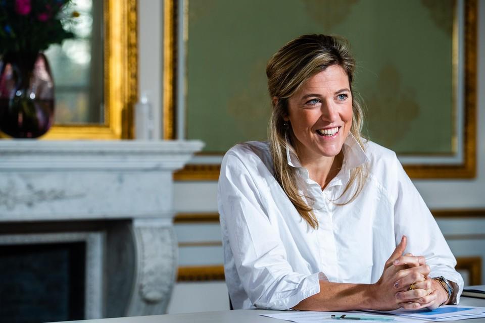 Annelies Verlinden, minister van Binnenlandse Zaken (CD&V).
