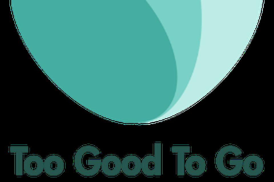 Het logo van Too Good to Go.