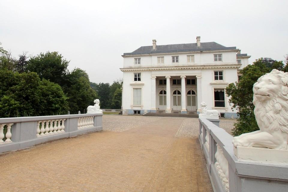 Het kasteel op het domein Hof ter Linden.