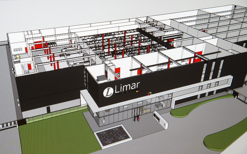 Zo zal de nieuwe fabriek eruitzien.