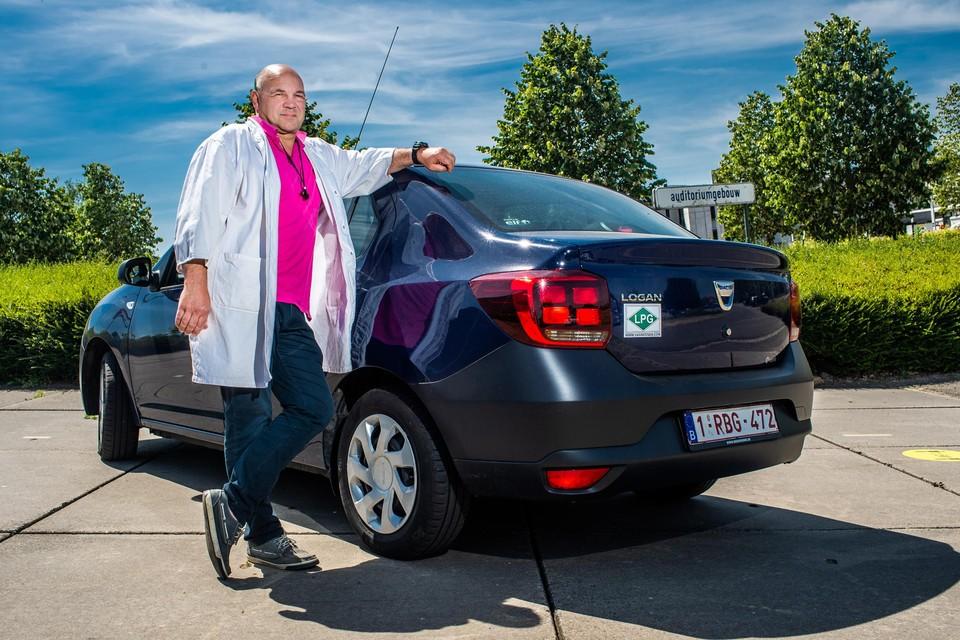 """Mark Pecqueur: """"Door mensen bestuurde auto's zijn de paarden van de toekomst. Mijn kleinkinderen zullen geen rijbewijs meer halen."""""""