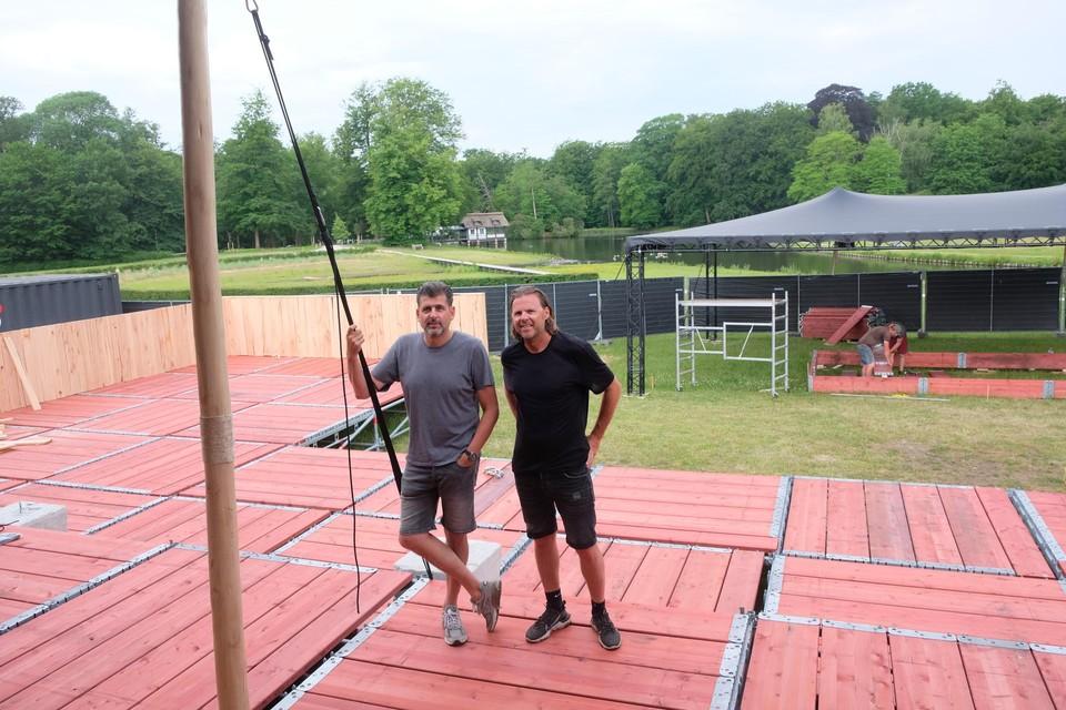 Marc Reijntjes en Alain Geuns op La Brassa.