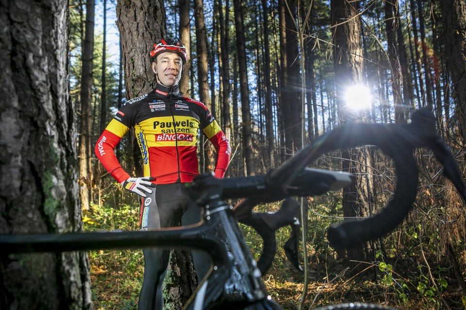 Laurens Sweeck verdedigt zijn Belgische driekleur.