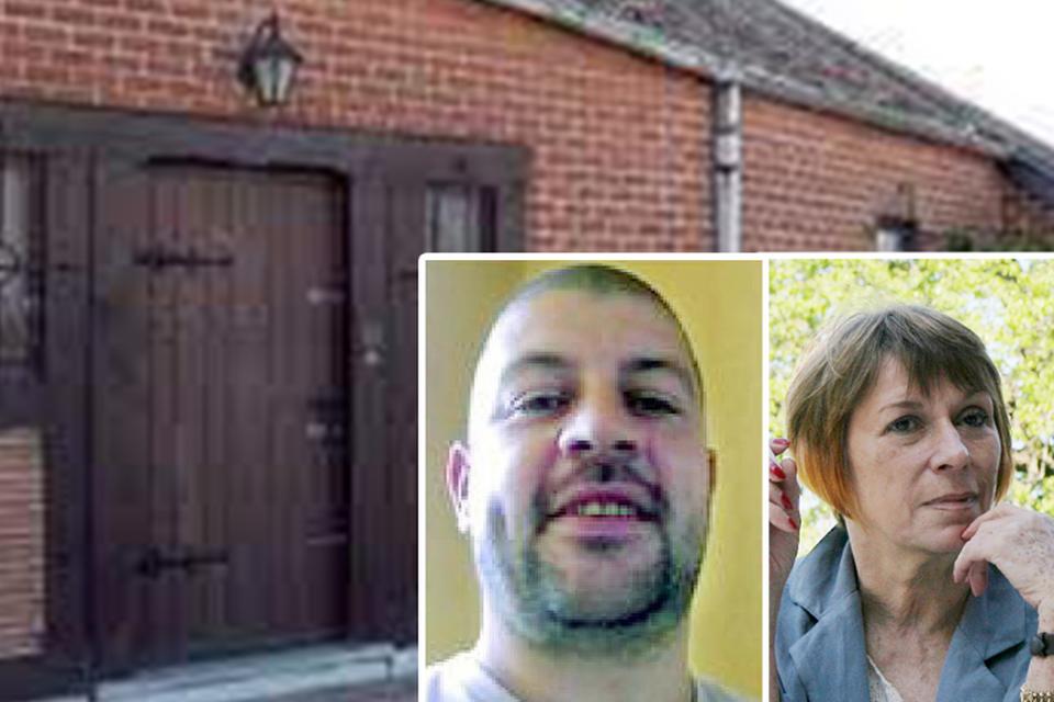 In dit huis brak Grégory in 2013 tijdens een ruzie de nek van zijn vrouw Sylviane.