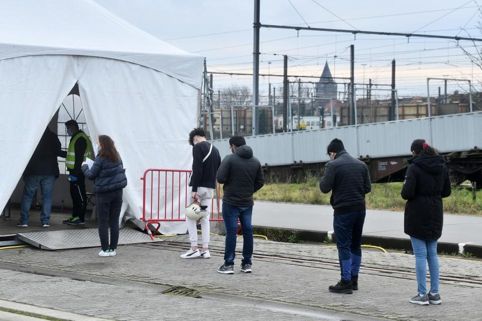 Het testdorp op Spoor Oost in Borgerhout.