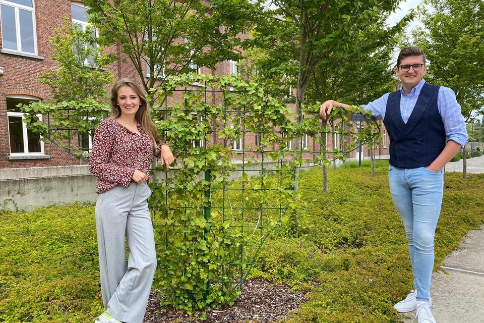 Eline Van kerckhoven en Xander De Vos.