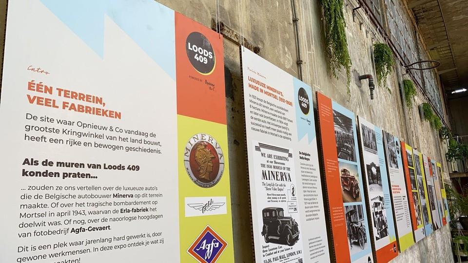 De lange geschiedenis van Loods 409 werd in een expo gegoten.