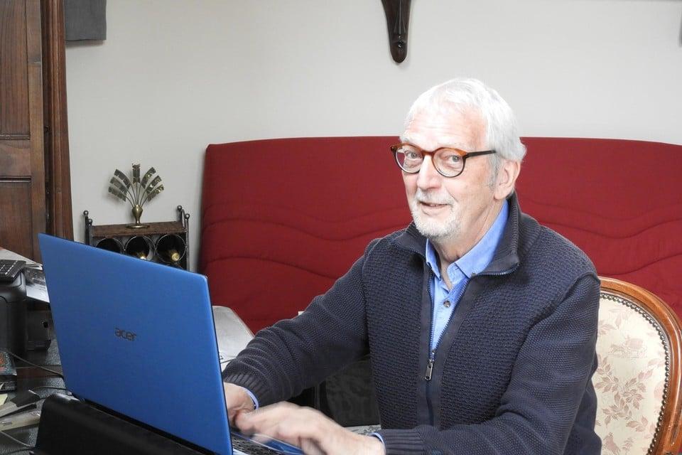 Voorzitter Louis Fret van de gemeentelijke seniorenraad pleit voor meer buurtzorg en sociaal contact.
