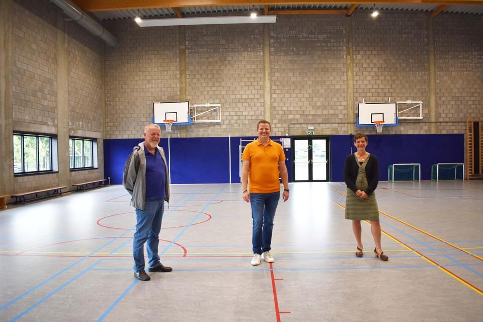 Ronny Verbeeck, Bart Willemen en Brenda Janssens