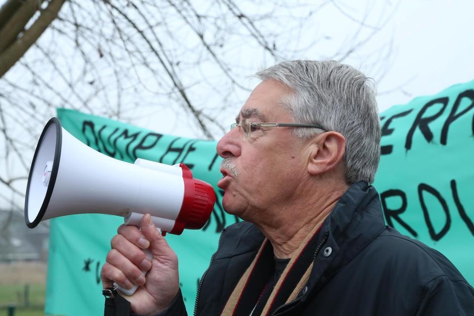 André Didden is één van de woordvoerders van de buurtgroep.