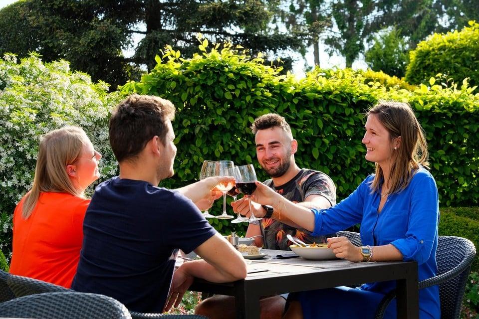 De fietsers kunnen onderweg genieten van een maaltijd in Lille en in Kasterlee.