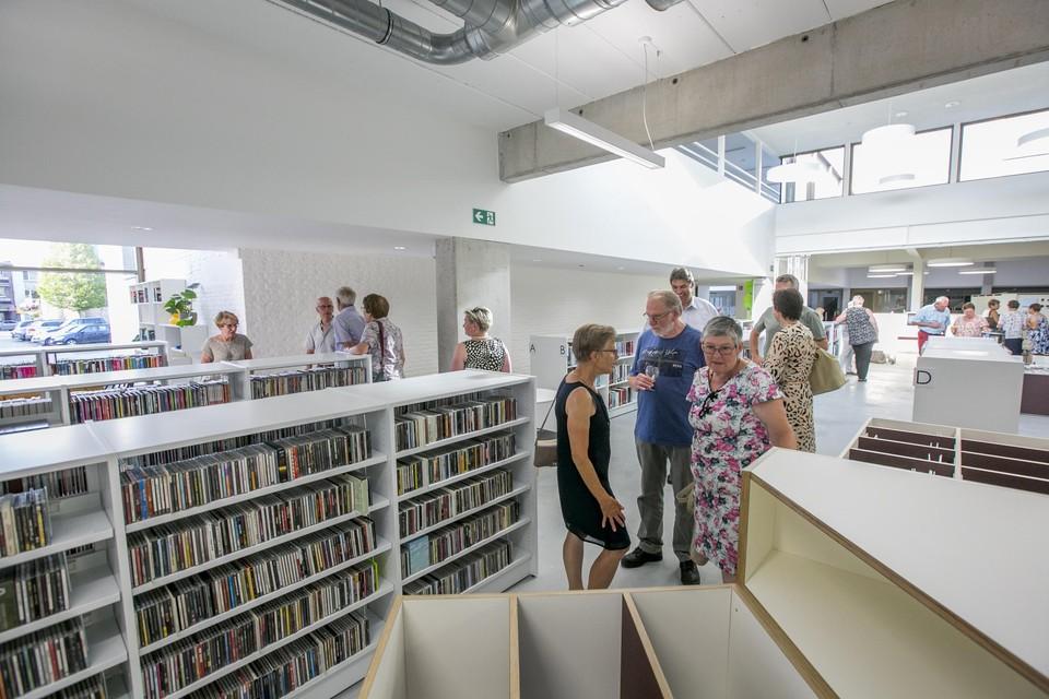 De bibliotheek van Nijlen.