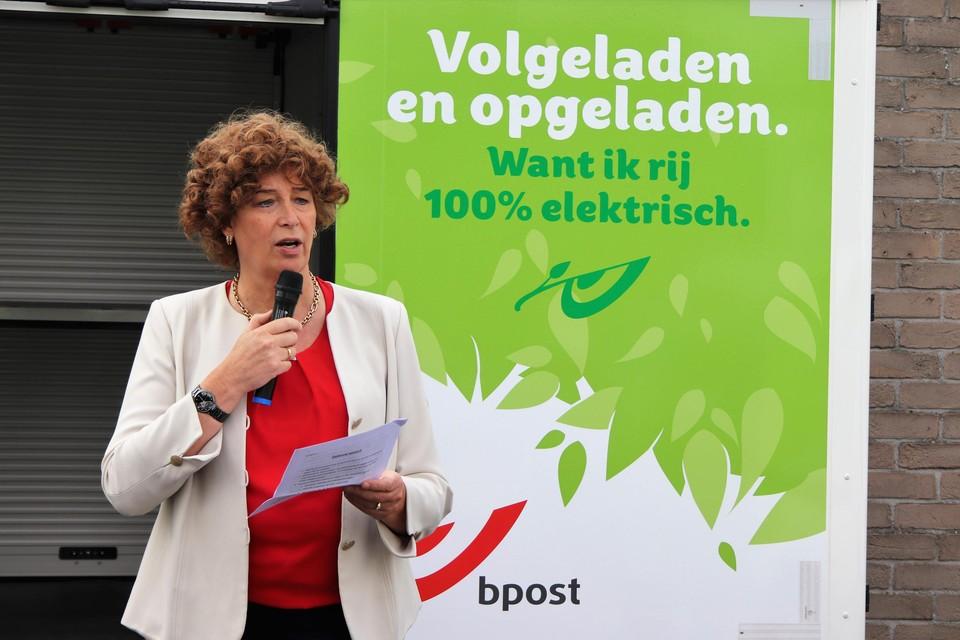 De minister dankte de stad Mechelen voor de voorbeeldfunctie die ze vervult.
