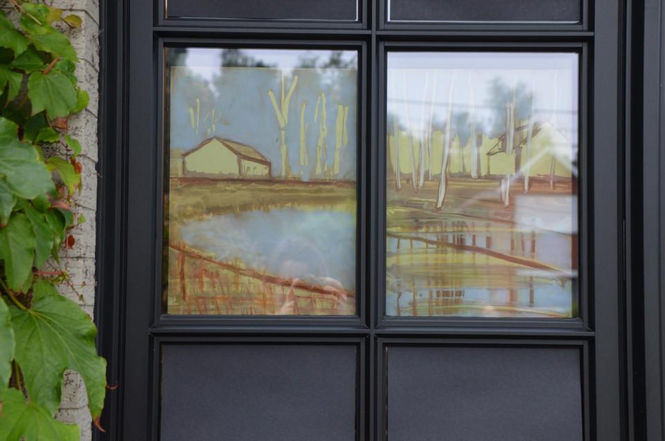 De landschapsimpressies van Ann Francx.